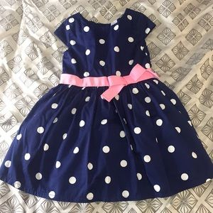 Girls 4T polka dot dress